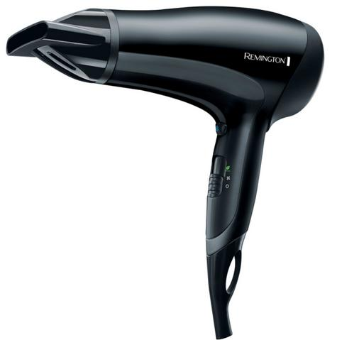 Remington D3010 PowerDry Hairdryer|Ceramic Ionic Grille|2000W|Anti Static|Black| Thumbnail 2