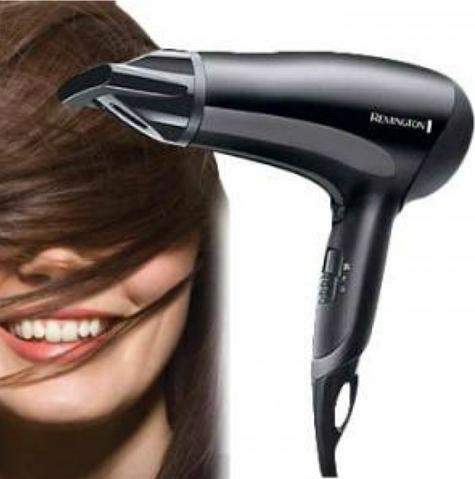 Remington D3010 PowerDry Hairdryer|Ceramic Ionic Grille|2000W|Anti Static|Black| Thumbnail 4