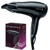 Remington D3010 PowerDry Hairdryer|Ceramic Ionic Grille|2000W|Anti Static|Black|