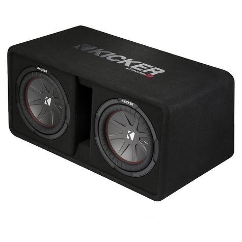 "Kicker KA43DCWR122 12"" Comp R Dual Vented 1000W RMS Car Audio Subwoofer Bass Box Thumbnail 2"