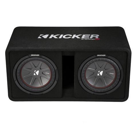 "Kicker KA43DCWR122 12"" Comp R Dual Vented 1000W RMS Car Audio Subwoofer Bass Box Thumbnail 3"