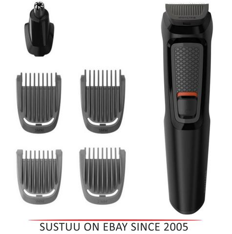 Philips MG3710/13 Multigroom Series 3000 6-In-1 Body Face Clipper Trimmer Kit Thumbnail 1
