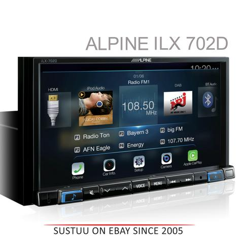 Alpine Car Stereo|GPS/Glonaas|Bluetooth|HDMI|USB|Aux|Apple Car Play|Android Auto Thumbnail 1