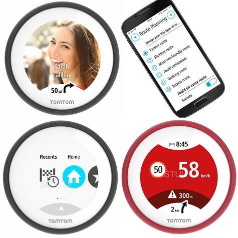 TomTom Vio|Scooter GPS-SatNav|Smartphone Controlled|Waterproof|Lifetime Updates* Thumbnail 3