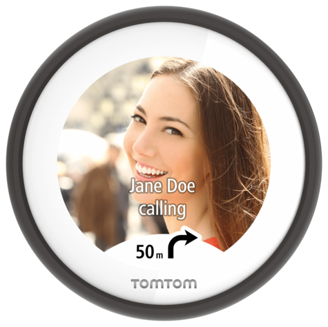 TomTom Vio|Scooter GPS-SatNav|Smartphone Controlled|Waterproof|Lifetime Updates* Thumbnail 8