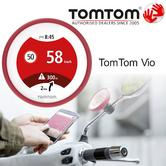 TomTom Vio|Scooter GPS-SatNav|Smartphone Controlled|Waterproof|Lifetime Updates*