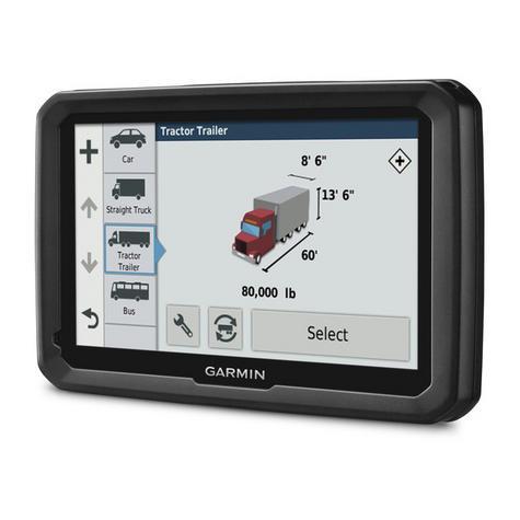 "NEW Garmin 010-01858-13 TFT 5"" Display Dezl 580 LMT-D Truck GPS SATNAV Navigator Thumbnail 2"