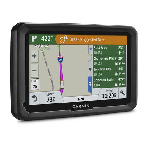 "NEW Garmin 010-01858-13 TFT 5"" Display Dezl 580 LMT-D Truck GPS SATNAV Navigator Thumbnail 3"