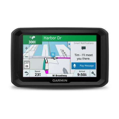 "NEW Garmin 010-01858-13 TFT 5"" Display Dezl 580 LMT-D Truck GPS SATNAV Navigator Thumbnail 4"
