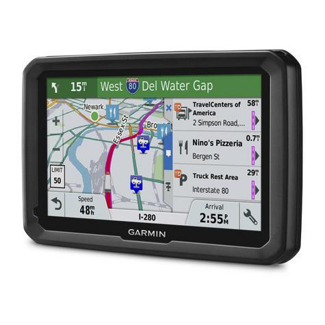 "NEW Garmin 010-01858-13 TFT 5"" Display Dezl 580 LMT-D Truck GPS SATNAV Navigator Thumbnail 5"