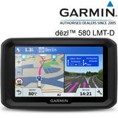 "Garmin Dezl 580 LMT-D 5"" Truck GPS Sat Nav 