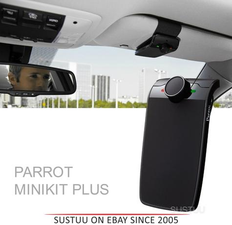 Parrot Mini Kit Plus|Car Bluetooth Portable Handsfree|Voice Recognition|MINIKIT PLUS Thumbnail 1