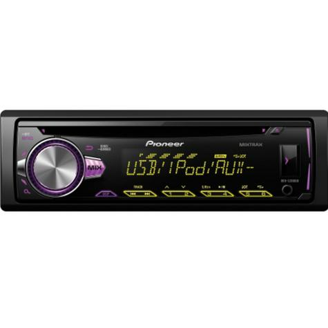 Pioneer DEH S2000Ui Car Stereo Player|Radio|CD|MP3|USB|Aux-In|iPod/iPhone Direct Thumbnail 4
