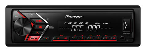 Pioneer MVH S100Ui RDS Ttuner/USB/Aux-in/iPod/iPhone Direct Digital Car Stereo Thumbnail 2