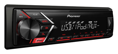 Pioneer MVH S100Ui RDS Ttuner/USB/Aux-in/iPod/iPhone Direct Digital Car Stereo Thumbnail 3