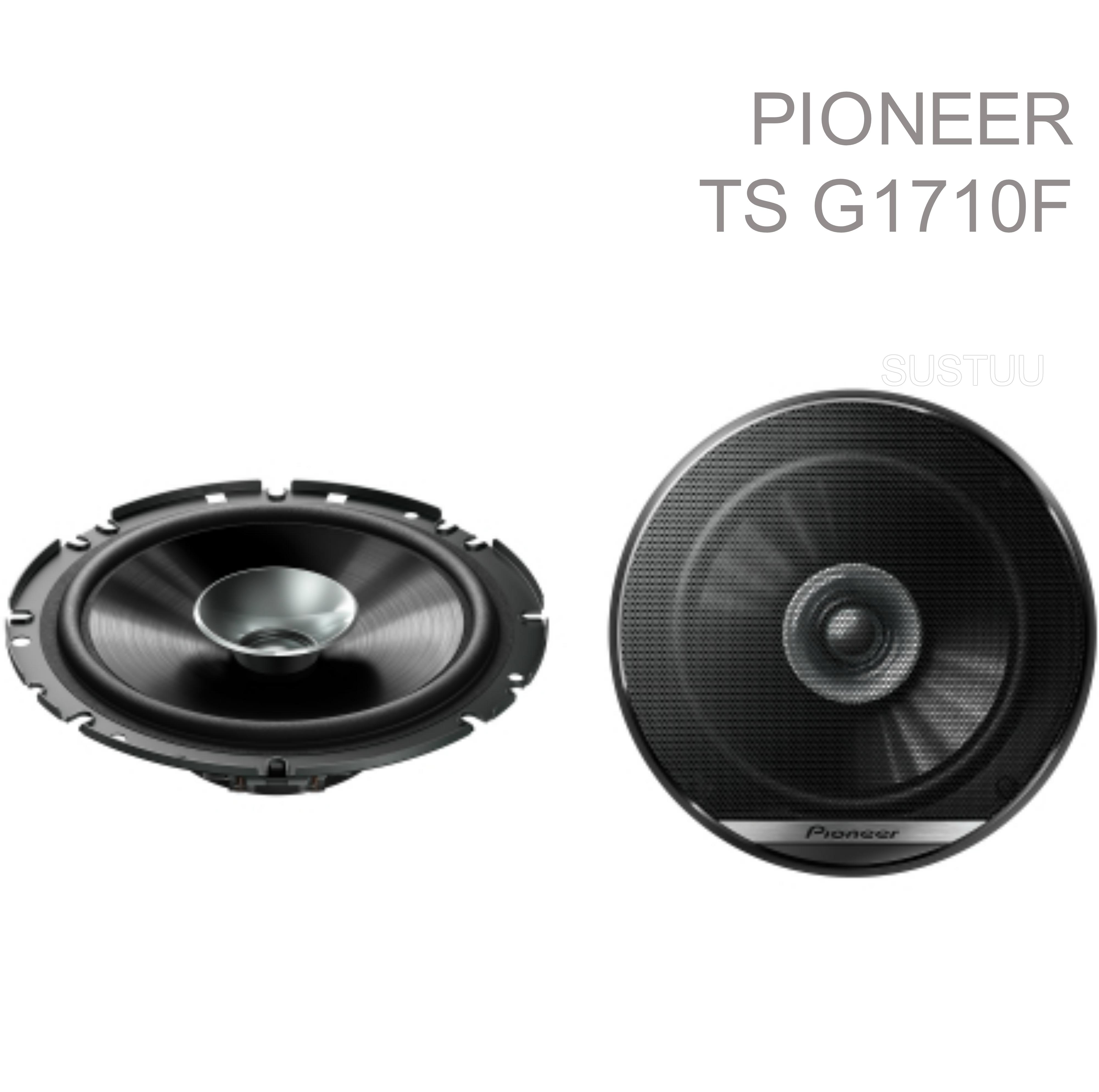 "Pioneer TS G1710F 6.5"" 280W 17Cm 2-Way Dual Cone Coaxial Car Door Speakers -NEW"