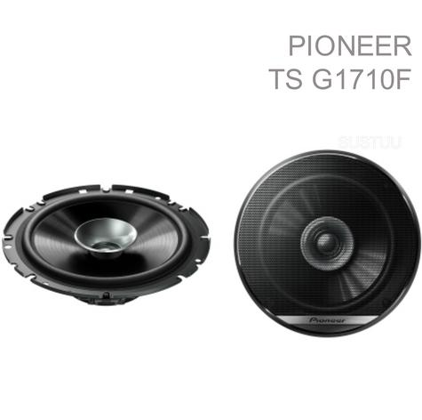"Pioneer TS G1710F 6.5"" 280W 17Cm 2-Way Dual Cone Coaxial Car Door Speakers -NEW Thumbnail 1"