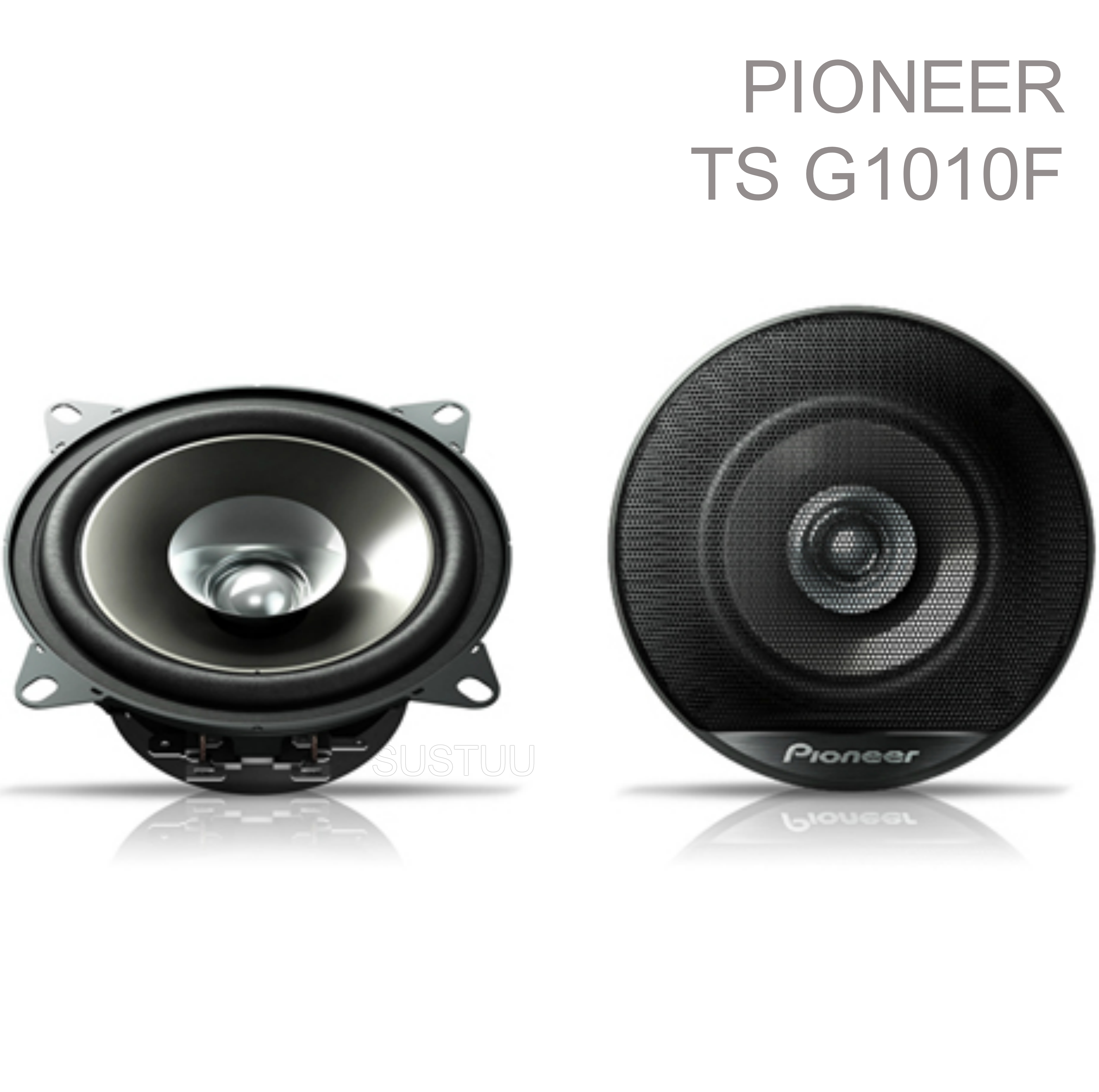 Pioneer In Car Front/Rear Door/Shelf Dual Cone Speakers?10cm-190W?1Yr WARRANTY