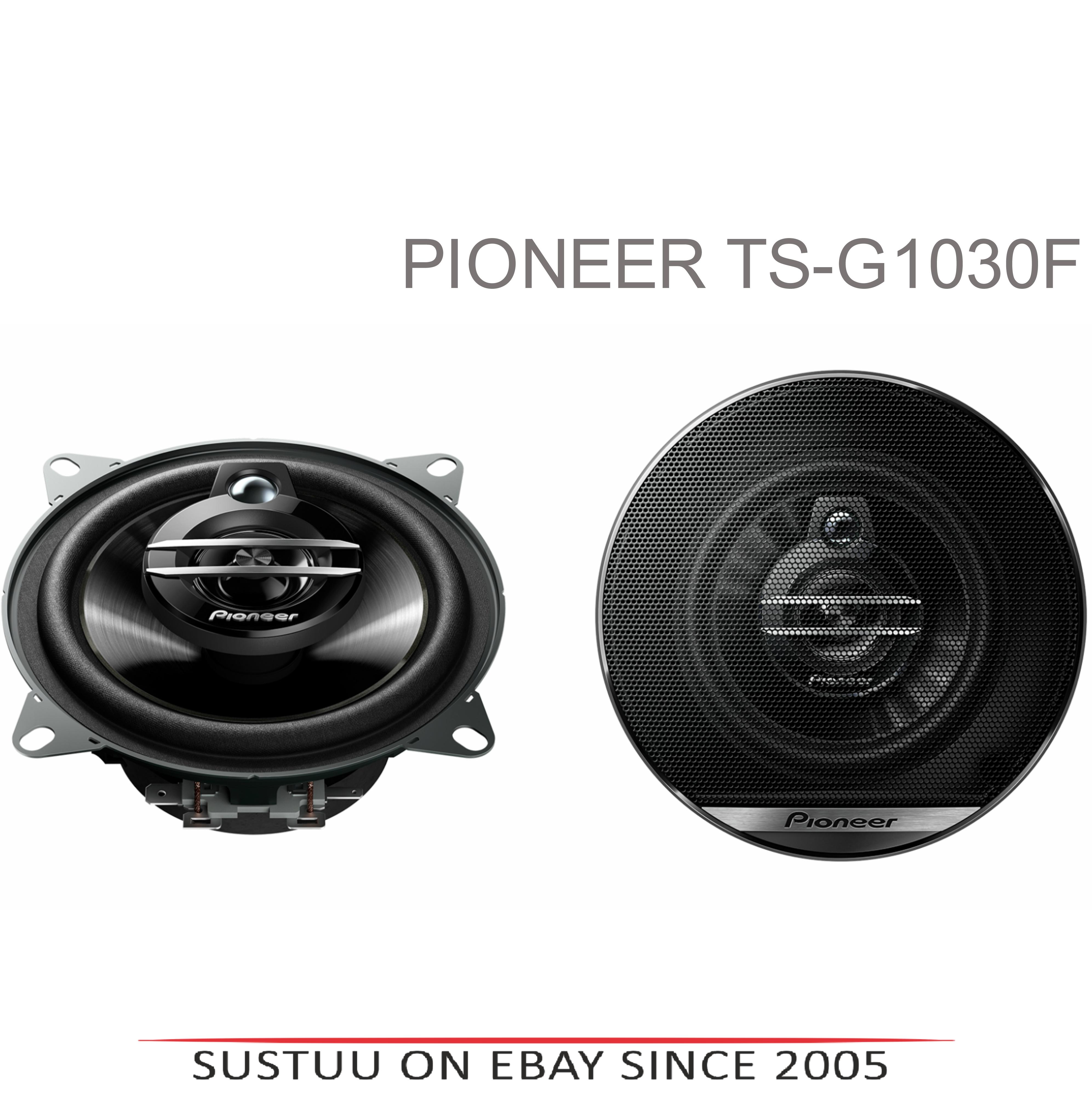 Pioneer TS G1030F|In Car 3-way Coaxial Speakers|G Series|Door-Shelf|10cm|30-210W