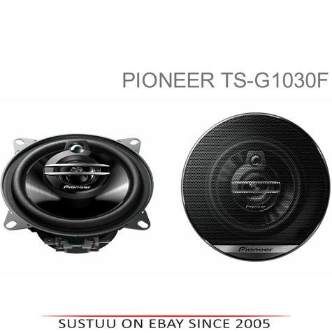 Pioneer TS G1030F|In Car 3-way Coaxial Speakers|G Series|Door-Shelf|10cm|30-210W Thumbnail 1
