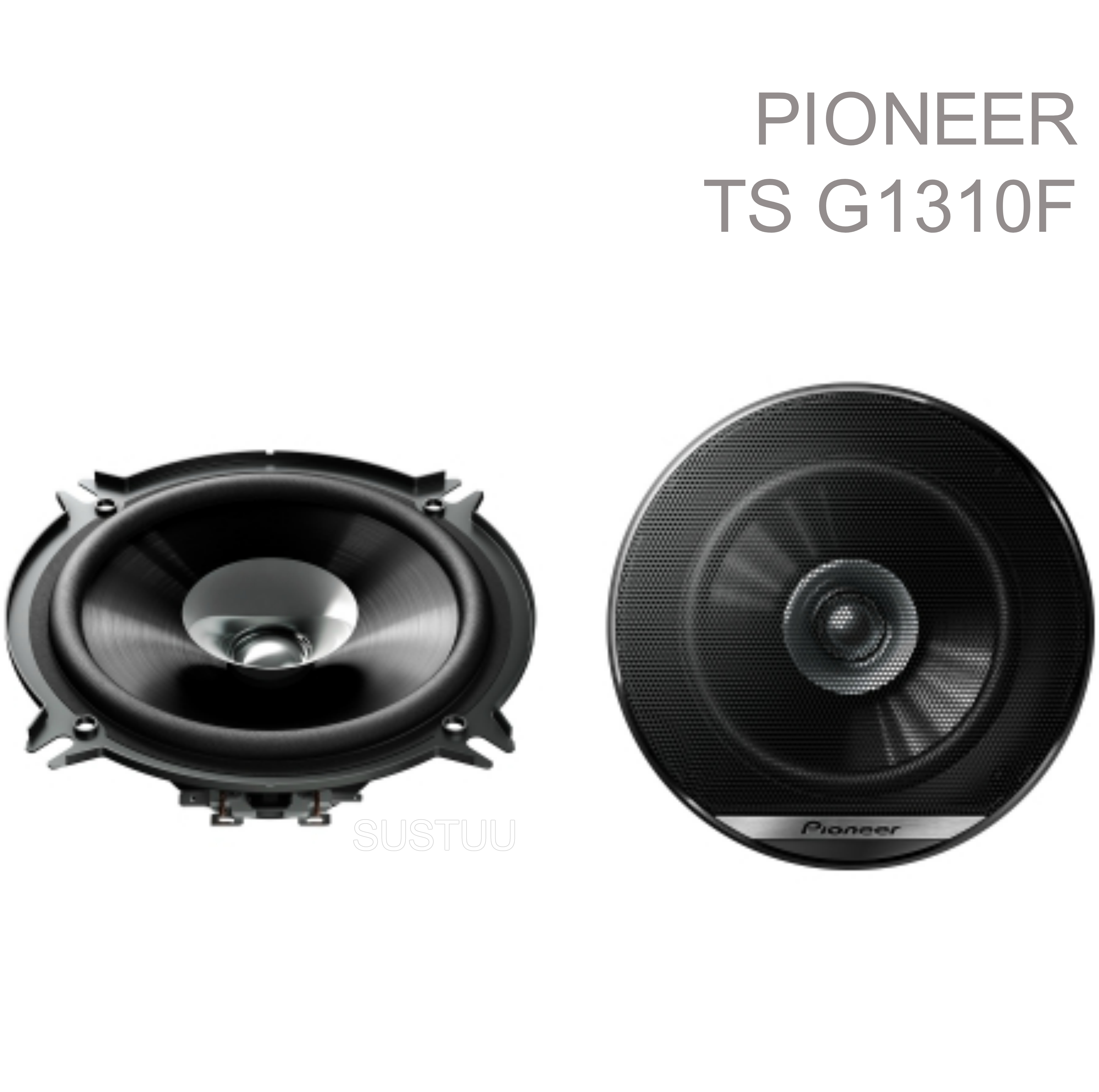 "Genuine Pioneer TS G1310F 5.25"" 230W 13Cm Dual Cone Coaxial Car Door Speakers"