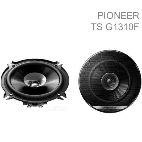 "Genuine Pioneer TS G1310F 5.25"" 230W 13Cm Dual Cone Coaxial Car Door Speakers Thumbnail 1"