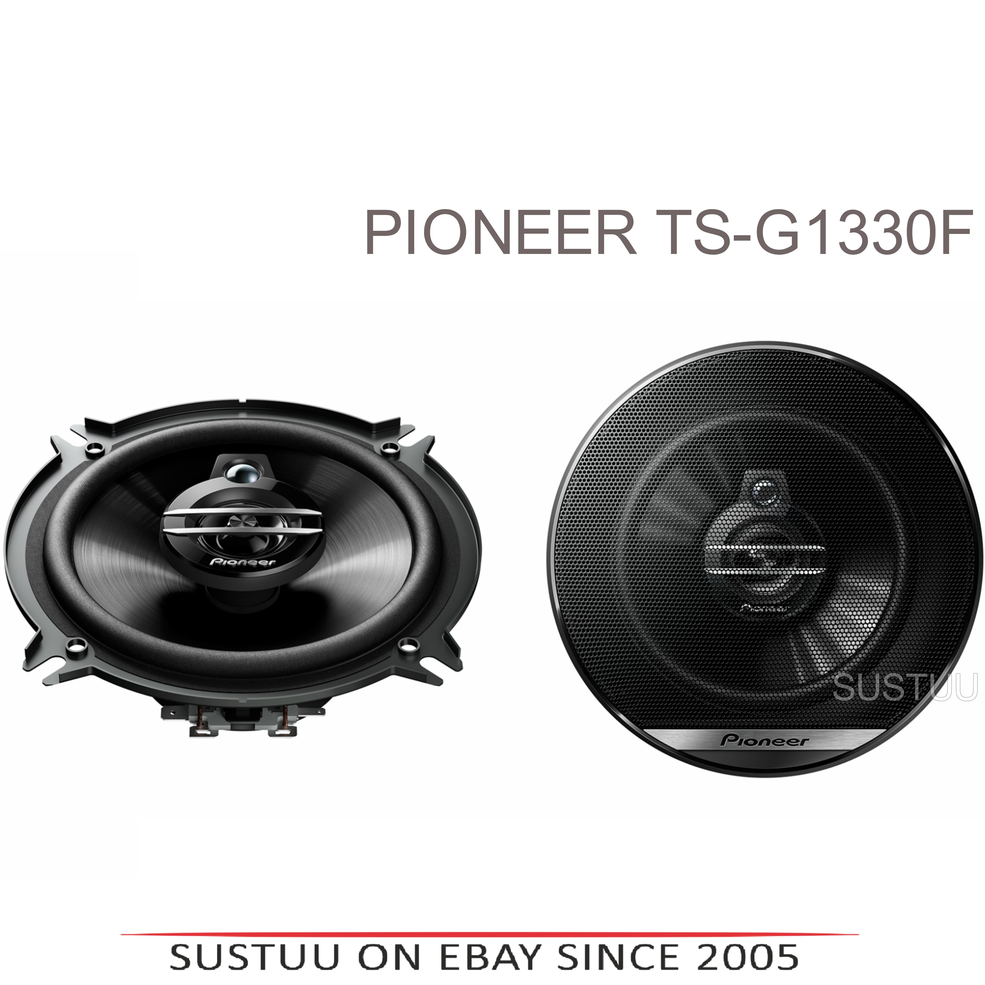 Pioneer TS G1330F|In Car 3-way Coaxial Speakers|G Series|Door-Shelf|13cm|35-250W