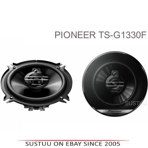 Pioneer TS G1330F|In Car 3-way Coaxial Speakers|G Series|Door-Shelf|13cm|35-250W Thumbnail 1