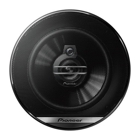 Pioneer TS G1330F|In Car 3-way Coaxial Speakers|G Series|Door-Shelf|13cm|35-250W Thumbnail 2