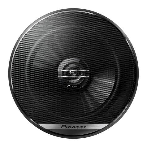 Pioneer TS G1720F|In Car 2-way Coaxial Speakers|G Series|Door-Shelf|17cm|40-300watt Thumbnail 2
