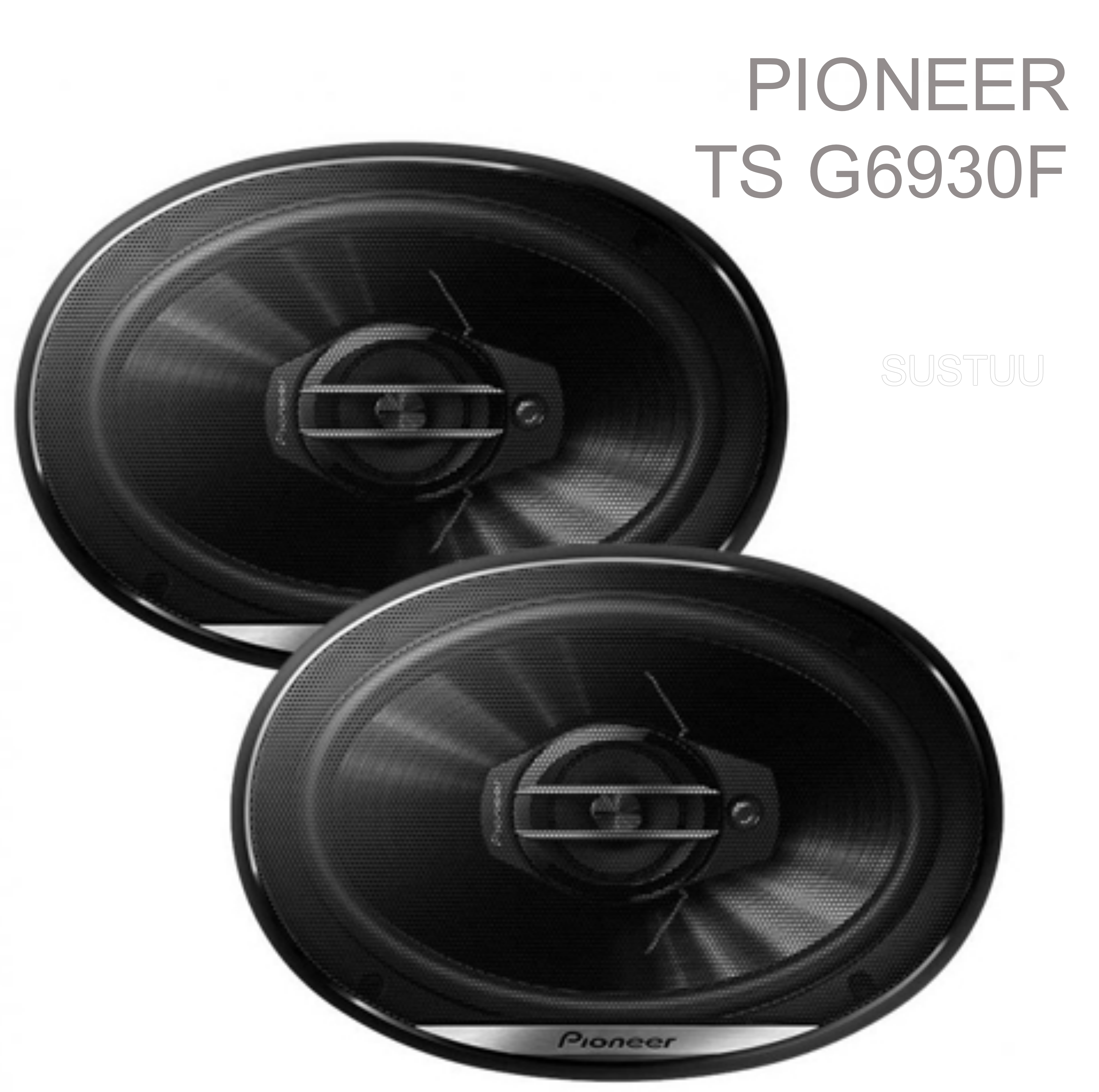 "Pioneer TS G6930F 6x9"" Carbon Graphite Coaxial 3 Way Car Audio Speakers 400W NEW"