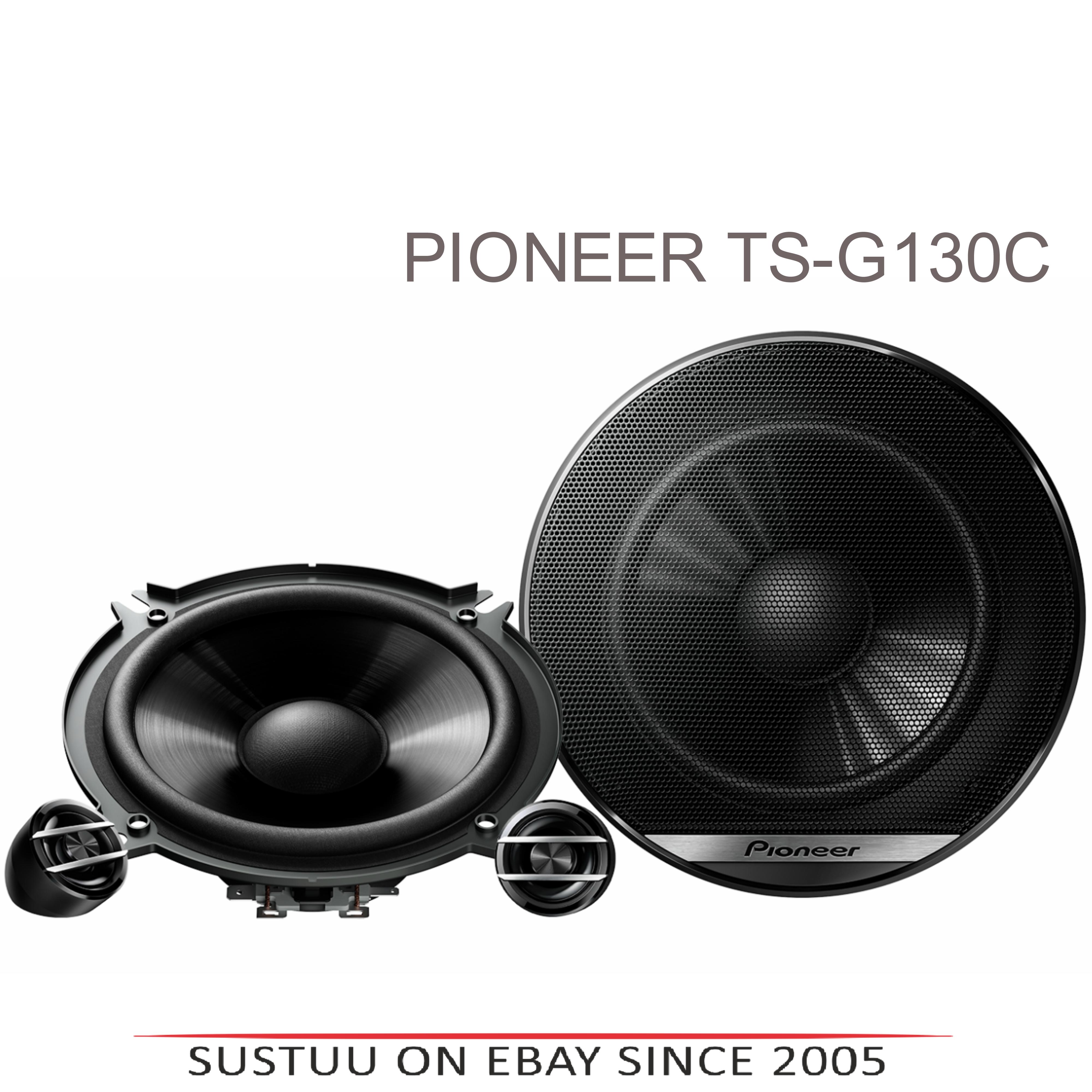 Pioneer TS G130C|In Car 2-way Speakers|G Series|Door-Shelf|13cm|40-220watts