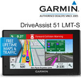 "Garmin DriveAssist 51LMT-S 5"" GPS SatNav 