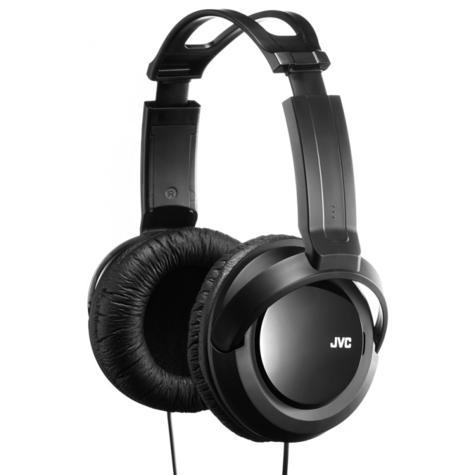 JVC HARX330|Over-Ear DJ Stereo Headphone|Deep Bass Sound|2.5mCord|Black x 2 Unit Thumbnail 3