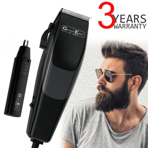 Wahl 79449-317 GroomEase Hair Clipper & Trimmer Gift Set|18 Piece Kit|Black| Thumbnail 1