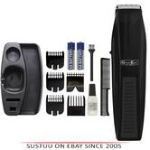 Wahl Groom 5537/6217 Battery Performer Stubble & Beard Trimmer|Steel Blade|Black