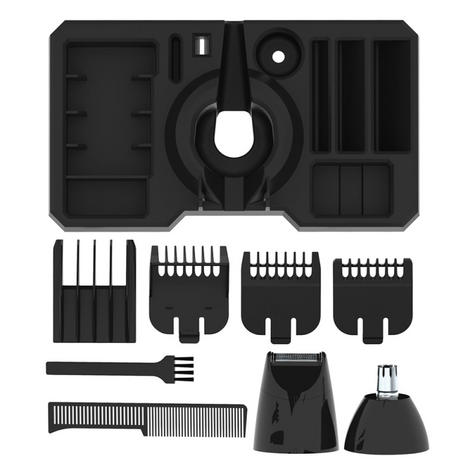 Wahl 9685-417 GroomEase Multigroomer|Rechargeable|All-in-One Grooming Kit|Black| Thumbnail 4