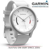 Garmin Vivomove|Analog Smart Watch|Activity Tracker|Sleep Monitor|Sports Strap|White