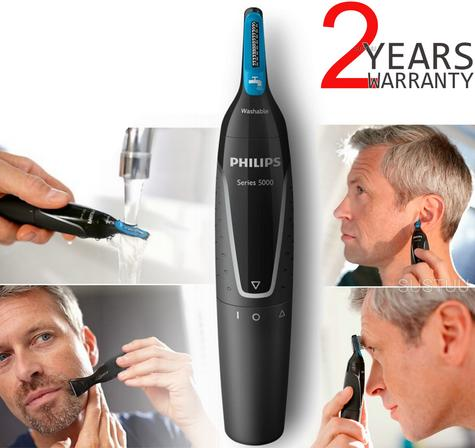 Philips Series 5000 | Men's Hair Trimmer Grooming Kit | Nose-Ear-Eyebrow | WaterProof | Thumbnail 1
