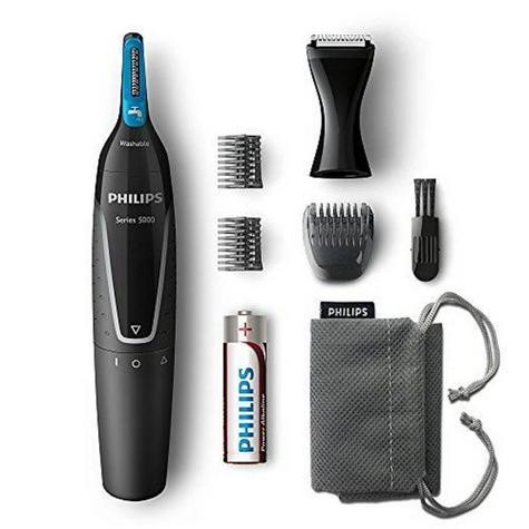 Philips Series 5000 | Men's Hair Trimmer Grooming Kit | Nose-Ear-Eyebrow | WaterProof | Thumbnail 2