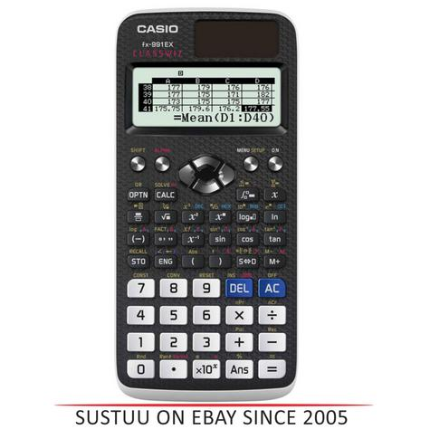 Casio FX991EX ClassWiz Advanced Scientific Calculator|552 Function Spreadsheet| Thumbnail 1