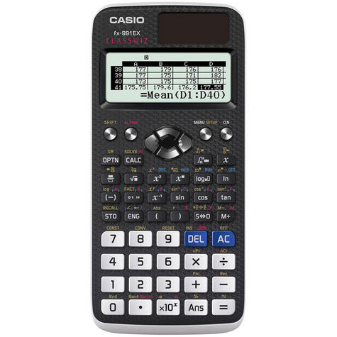 Casio FX991EX ClassWiz Advanced Scientific Calculator|552 Function Spreadsheet| Thumbnail 2
