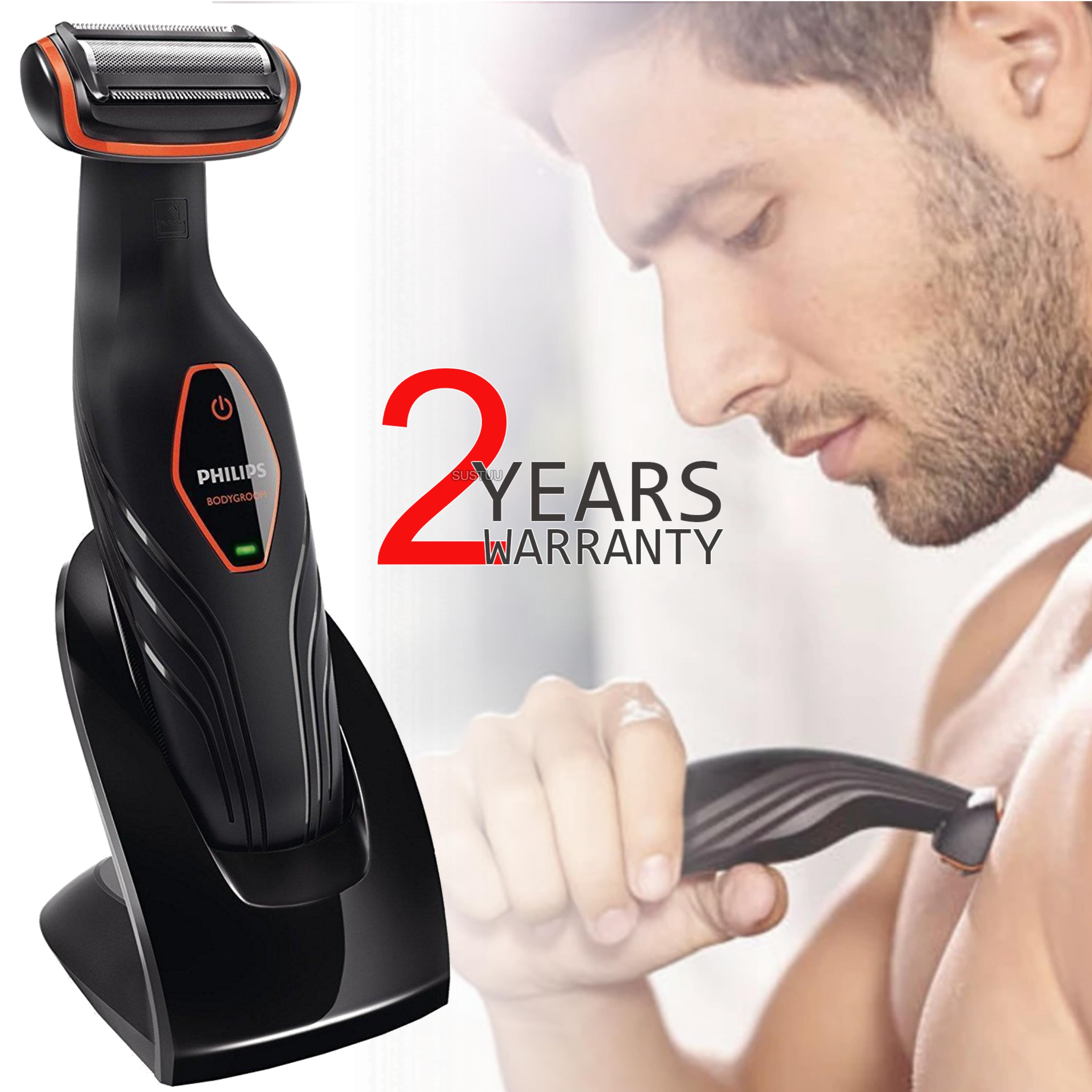 Philips Series 3000?Mens Showerproof Body Groomer?Cordless Hair Trimer/ Shaver