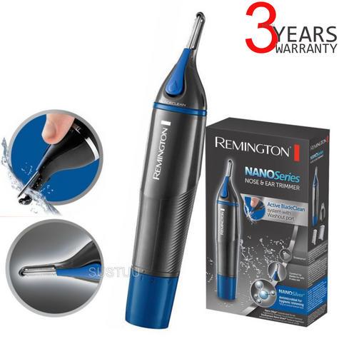 Remington Nose-Nasal-Ear-Eyebrow Facial Nano Hair Trimmer Clipper?For Men?NE3850 Thumbnail 1