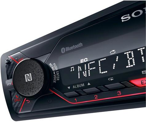 Sony DSX A410BT Car Mechless Stereo Media Player?Bluetooth/USB/iPhone-iPod?4x50W Thumbnail 2
