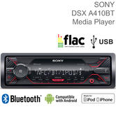Sony Car Stereo Player | Media Receiver | Dual Bluetooth | USB/AUX | iPod-iPhone-Android