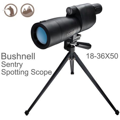 Bushnell Sentry Spotting Scope|Multi Coated|18-36x 50mm Objective Lens|-Black Thumbnail 1