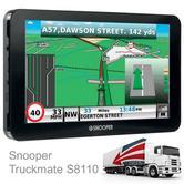 "Snooper Truckmate S8110|7"" HGV GPS SatNav|Freeview Tv+Speaker|UK-ROI-Europe Maps"
