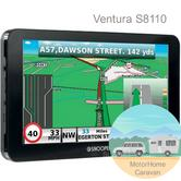 Snooper Ventura S8110 EU|Caravan-Motorhome GPS SatNav|Freeview TV|UK-Europe Maps
