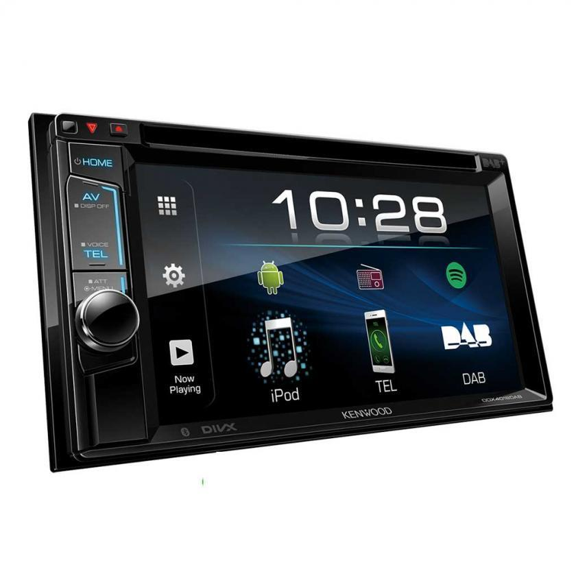 MP3/DAB+ Radio/Bluetooth//Kenwood DDX 4018DAB 6.2'' Double